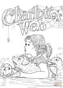 Charlottes Web Coloring Pages s web coloring page free printable coloring pages