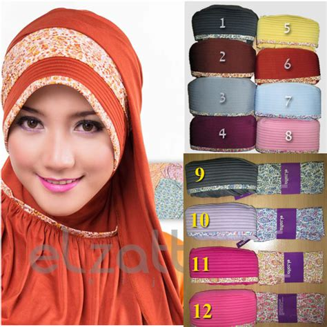 Bergo Layang Terbaru Dan Eksklusif 2 jilbab instan bergo elzatta saira rania jilbab elzatta zatta koleksi jilbab terbaru