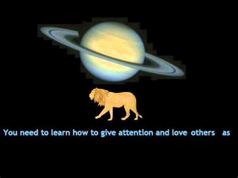 saturn leo saturn in leo western astrology lessons