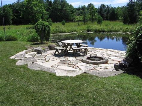 large backyard ponds large pond landscaping ideas google search back yard porch pinterest