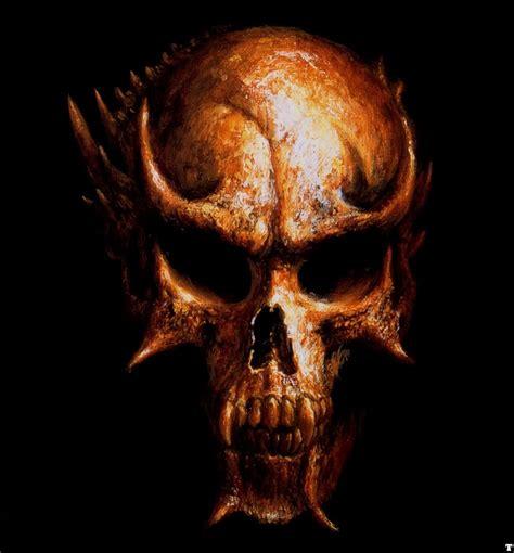 Evil Skull scary skulls images evil skull graphics code evil