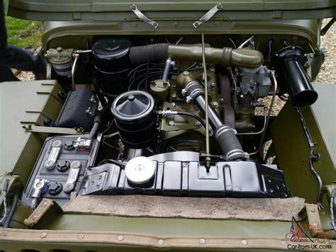 ww2 jeep engine willys jeep ww2