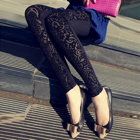 pattern velvet leggings women legging pants new 2015 spring tights leggins