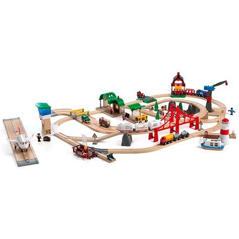 brio deluxe railway brio railway world deluxe set 33766 ebay