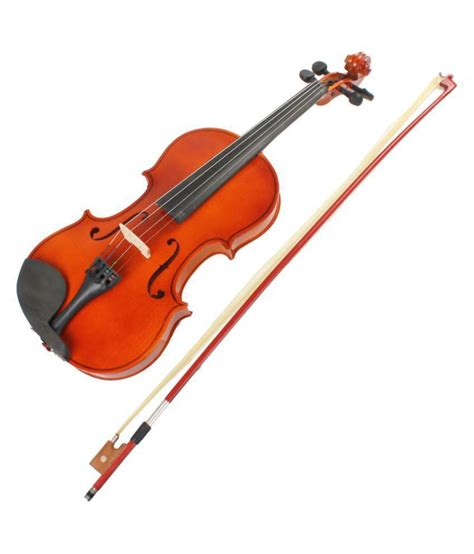 Violin 4 In 1 kaps violin with bow and rosin professional 4 4