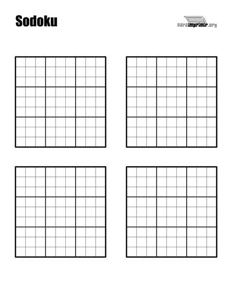 descargar sudokus para imprimir sudoku en blanco para imprimir