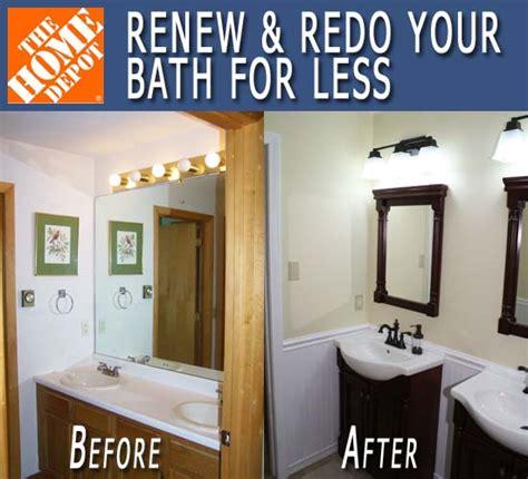 Bathroom Vanity Makeover Diy - renew amp redo bath makeover before amp after