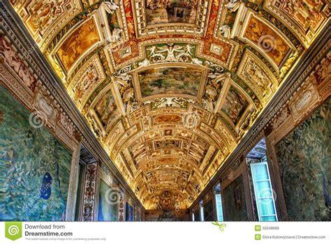 Plafond De Mus 233 E De Vatican Photo Stock Image 55048689
