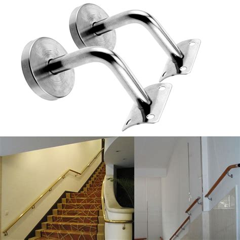 banister rail fixings stair handrail mounting brackets home design ideas and