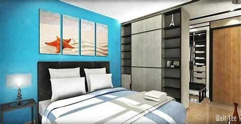 Bedroom Wardrobe Ideas Singapore Interior Design Hdb 4 Room Segar Master Bedroom