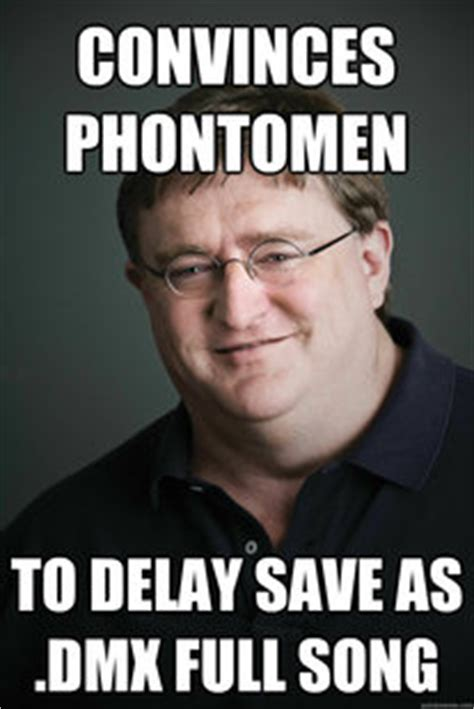 Gabe Newell Memes - gabe newell meme quickmeme picture to pin on pinterest