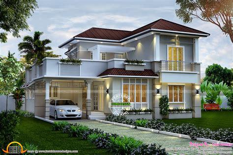 1940 sq ft 4 bedroom villa kerala home design and floor