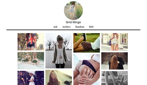 tumblr themes free html grid free html5 css3 templates free awesome tumblr themes