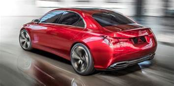 2018 mercedes a class sedan concept revealed