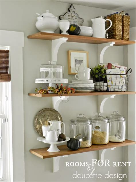 Decorating Ideas For Kitchen Shelves Fall Home Tour 2014 Rooms For Rent