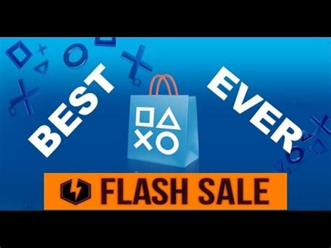 best flash sales the best psn flash sale is now sony messed up