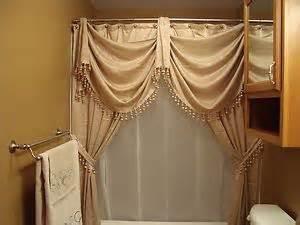 splendor double swag shower curtain shower curtain valances curtain valances and valances on