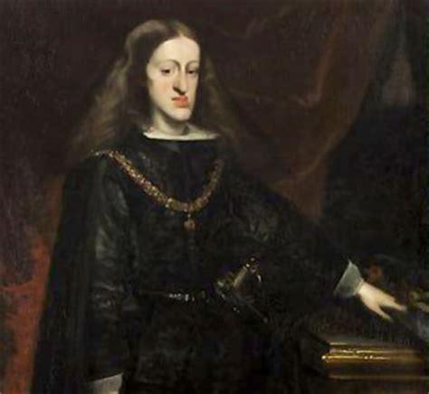 biografia de carlos i i biografia de carlos ii el hechizado