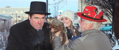 groundhog day jimmy jimmy the groundhog likely out on groundhog day after