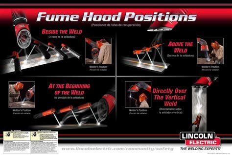 lincoln electric welding hoods weld fume extraction