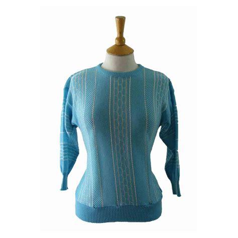 80s blue top 8 blue 17 vintage fashion