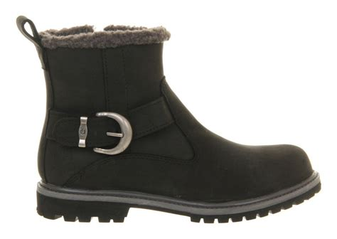 timberland style boots timberland nellie biker style boot in black for lyst