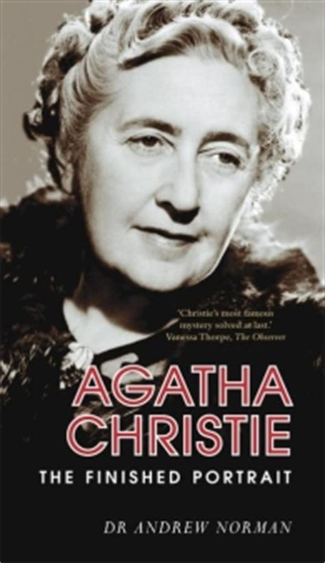 agatha christie biography text maze agatha christie the finished portrait isbn 9780752439907