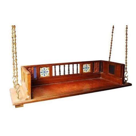 backrest wooden swing  rs  piece wooden swings