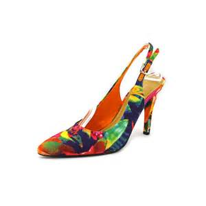 multi color heels nine west nine west gilliano fabric multi color