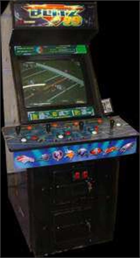Nfl Blitz Arcade Cabinet by Nfl Blitz 99 Pcb By Midway Inc 1998