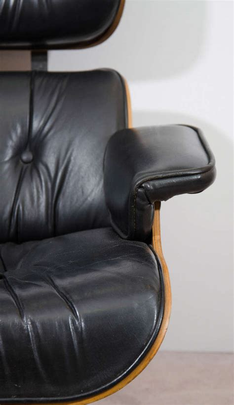 eames style lounge chair and ottoman midcentury eames style lounge chair and ottoman at 1stdibs