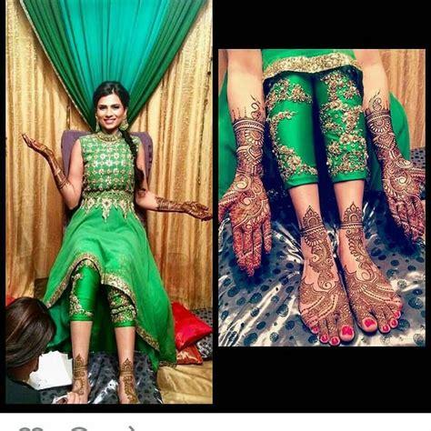 Wedding Attire Designs by Mehendi Embroidered Bottoms Wedding Etc