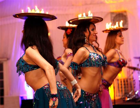 candele a gogo belly shows by infinity bellydance hire