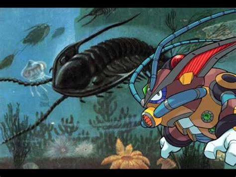 megaman  earthrock trilobyte animal form p youtube