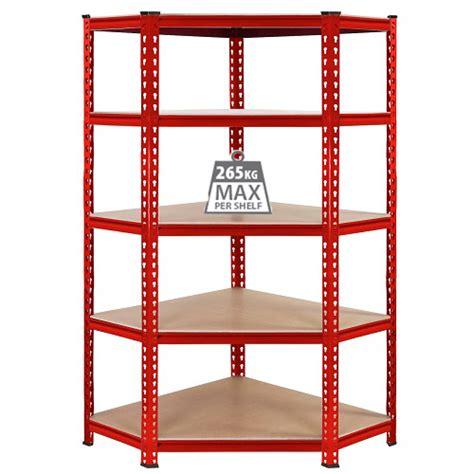 Garage Shelving Corner 3x Corner Racking Deal Garage Shelving 90cm Storage