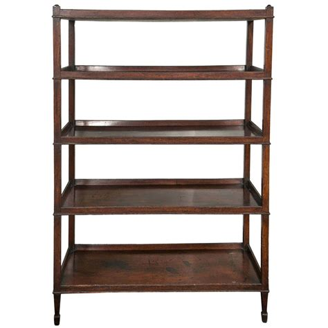 Antique Etagere antique hepplewhite mahogany etagere at 1stdibs