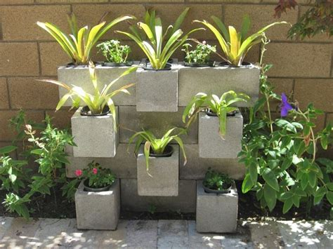 concrete blocks for garden walls the best cinder block garden ideas for your sweet home