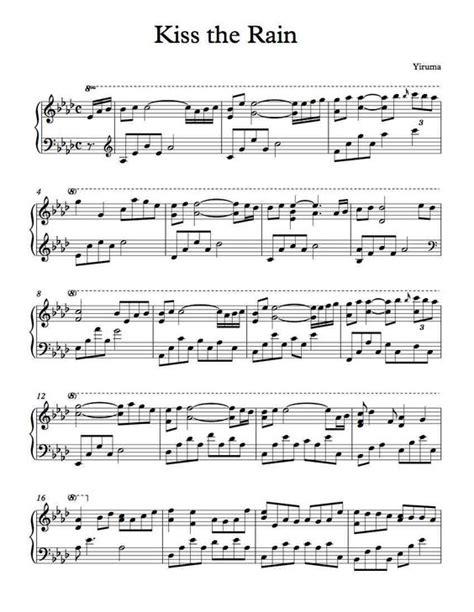 tutorial kiss the rain guitar piano piano chords kiss the rain piano chords piano