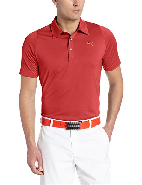 swing golf apparel puma mens na duo swing golf polo shirts