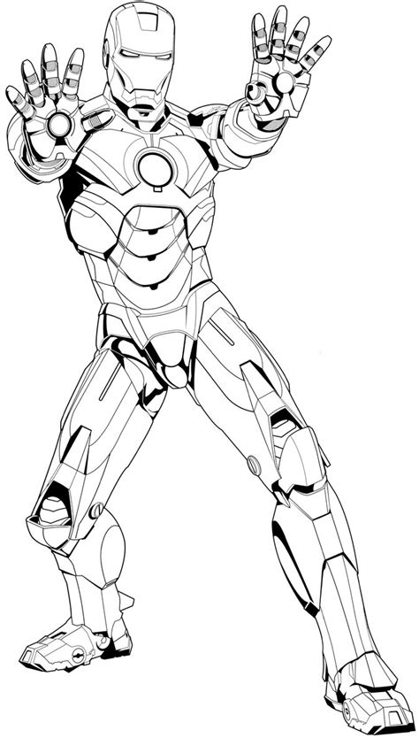black iron man coloring pages iron man mark 2 free coloring pages