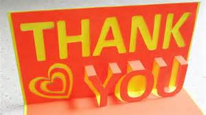 thank you pop up card learn how to make a thankyou popup card from template ezycraft