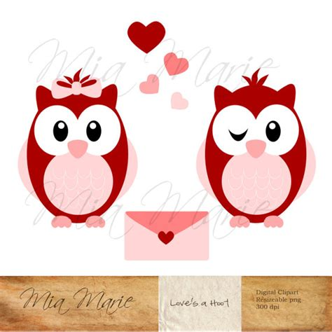 owl valentines day s day clip owl clip