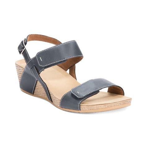 wedge sandals blue clarks alto disco platform wedge sandals in blue admiral