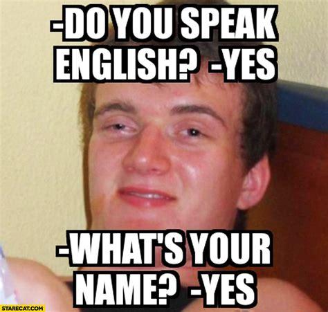 English Language Meme - memes in english