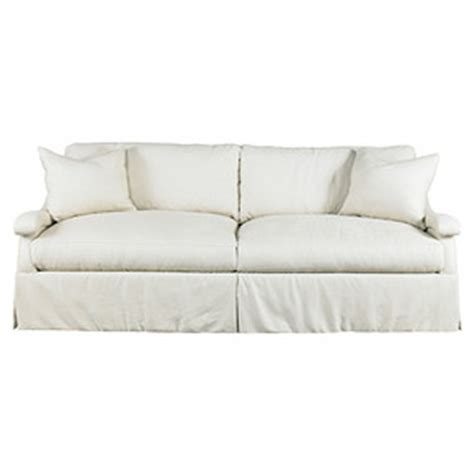 white linen slipcover sofa vonn 94 linen slipcover sofa off white by one kings lane