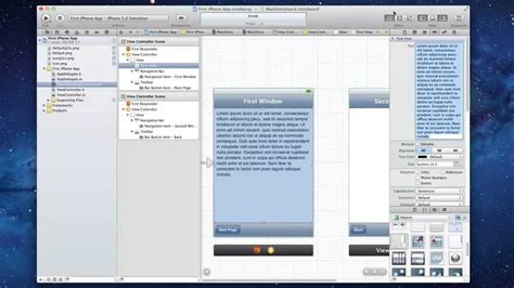 xcode popover tutorial iphone how to make your first iphone app in xcode 4 youtube