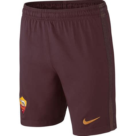 Shorts Go As Roma Home nike as roma home junior 2016 2017 in maroon excell sports uk