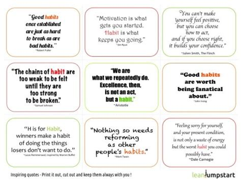 Healthy Habits For Sustained Success Habit Quotes Get Your Motivational Cards For Clean