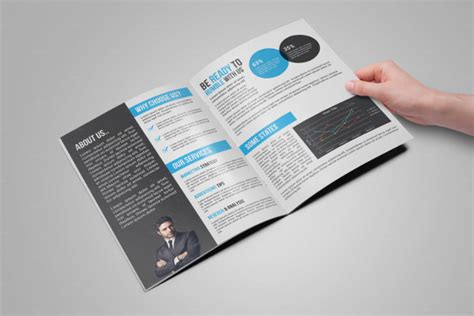 indesign bi fold brochure template brochure templates 41 free psd ai vector eps