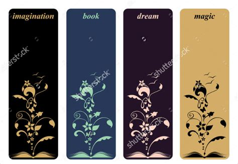 printable bookmarks design 21 bookmark design templates free sle exle